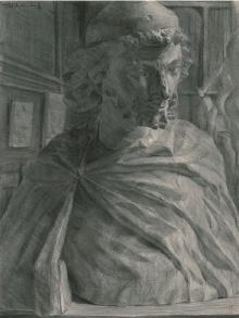 セントジョセフ・木炭デッサン (1975)