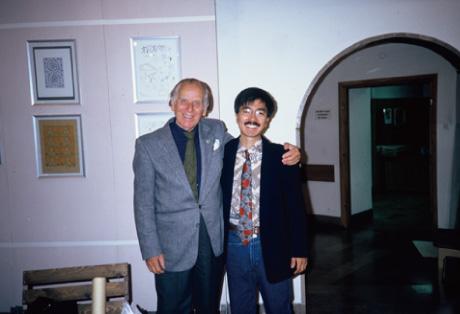 ワルシャワ・カリカチュア美術館館長エリク?リピンスキ(1986)