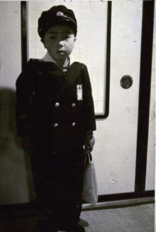 上組小学校入学式 秋山孝(1959)