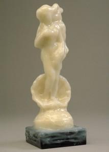 イラストレーター秋山孝が制作したオブジェ「Takashi Akiyama's Object (Memories)_Venus」