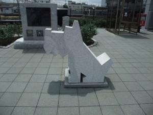 稲田石シリーズ「Dog(犬)」の展示風景5