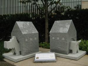 稲田石シリーズ「Dog(犬)」の展示風景8