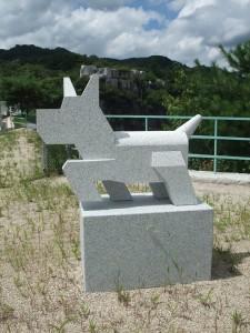 稲田石シリーズ「Dog(犬)」の展示風景15