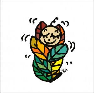 イラストレーター秋山孝が2008年に制作したイラスト「Repose 安息」