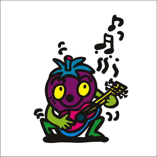イラストレーター秋山孝が2008年に制作したイラスト「Musician ミュージシャン」