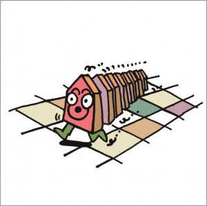 イラストレーター秋山孝が2008年に制作したイラスト「Shogi 将棋」