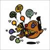 秋山孝が2008年に制作したイラスト「Verbosity 多弁」