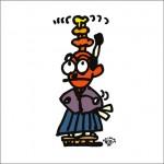2008年に秋山孝により制作されたイラスト「Devise 捻出」