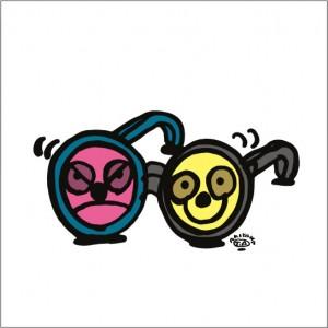2008年に秋山孝が制作したイラスト「Partner 相棒」
