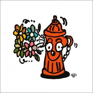 秋山孝が2008年に描いたイラスト「Unexpectedness 予想外」