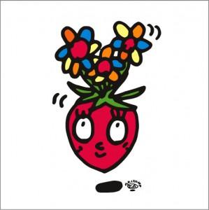 イラストレーター秋山孝が2009年に制作したイラスト「Affability 愛想」