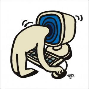 イラストレーター秋山孝が2009年に制作したイラスト「Another worlads 別世界」