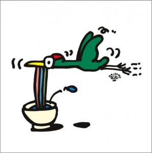 イラストレーター秋山孝が2009年に制作したイラスト「Expert 巧手」