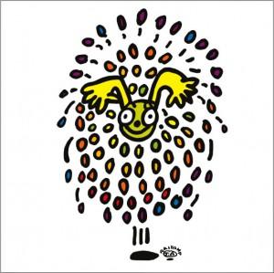 秋山孝が2009年に描いたイラスト「Salute 祝砲」