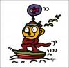 秋山孝が2009年に描いたイラスト「Adventure 冒険」