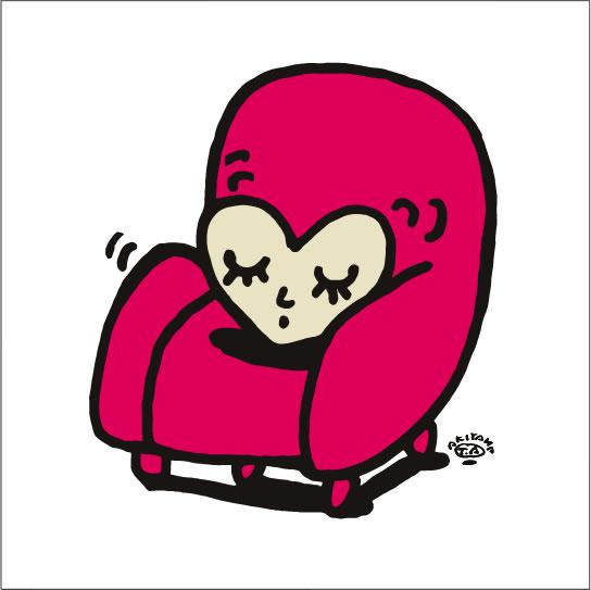 秋山孝が2009年に制作したイラスト「Precious 大切」