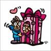 秋山孝が2009年に描いたイラスト「Surprise サプライズ」