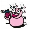 秋山孝が2009年に制作したイラスト「Fruit 果物」