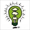 秋山孝が2010年に制作したイラスト「Invention 発明」