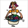 秋山孝が2010年に制作したイラスト「Recipe レシピ」
