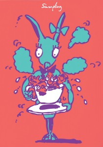 Sampling(coffeecup)|サンプリング(コーヒーカップ)