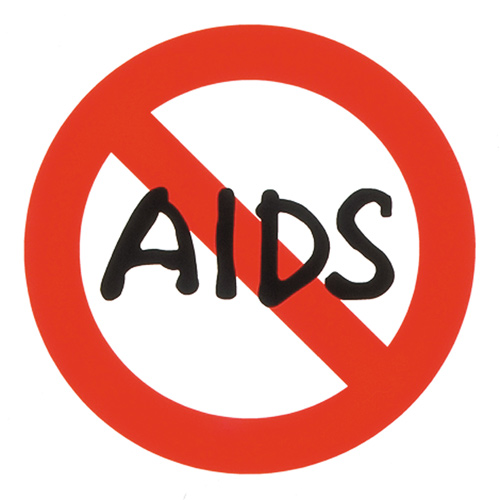 秋山孝が1992年に株式会社 オグラからの依頼により制作したシンボルマークエイズキャンペーン・キャラクター ストップ エイズ シンボルマーク