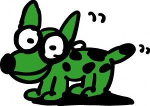 秋山孝が株式会社オグラからの依頼により制作したキャラクター仔犬のアンファン
