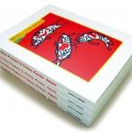 秋山孝が2007年に多摩美術大学からの依頼により作成した多摩美術大学70周年記念事業 東方のイラストレーションポスター展 中国・韓国・日本カタログ