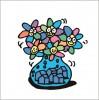 2008年にイラストレーター秋山孝がアイデアブログ「ヒラメク」のために制作したイラスト「Beautiful coexistence 豊かな共存」