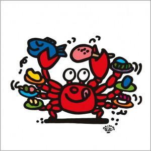 イラストレーター秋山孝が2009年に制作したイラスト「Bottomlessness 底なし」