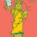 Water (the statue of liberty)