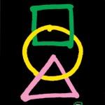 秋山孝が1990年に文化をテーマに描いたポスター「Takashi Akiyama in Funabashi 1990」