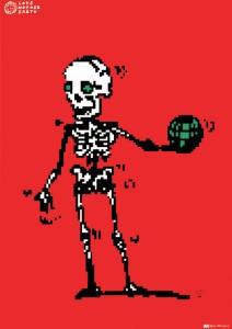 秋山孝が1991年にエコロジーをテーマに制作したポスター「Love Mother Earth (human) 」