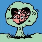 秋山孝が1992年にエコロジーをテーマに制作したポスター「Spring」