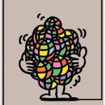 ポスターアーティスト秋山孝が2008年にTama Art Universityからの依頼により制作したポスター「Think The Earth - Message Illustration Poster」