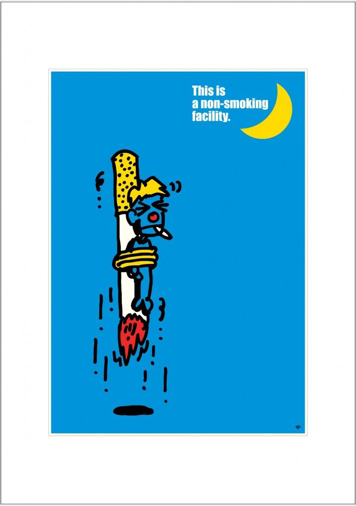 ポスターアーティスト秋山孝が2003年に制作したアートカード「アートカード ポスター 2003 05」