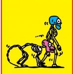 ポスターアーティスト秋山孝が第2回国際漫画芸術フェスティバル2011(ICAFE)からの依頼により2011年に制作したポスター「 International Cartoon & Art Festival 2011」