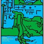 ポスターアーティスト秋山孝が多摩美術大学 デッサンプロジェクトからの依頼により2012年に制作したポスター「多摩美百景 - 2 / Dessin」