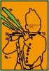 ポスターアーティスト秋山孝が秋山孝ポスター美術館長岡からの依頼により2012年に制作したポスター「Message Illustration Poster in Nagaoka」