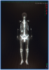 秋山孝の神秘「点と線」展/点と線・面・骨