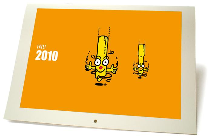 EAZET 2010年カレンダー|EAZET 2010 Calendar